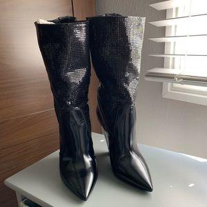 Saint Laurent embellished boots